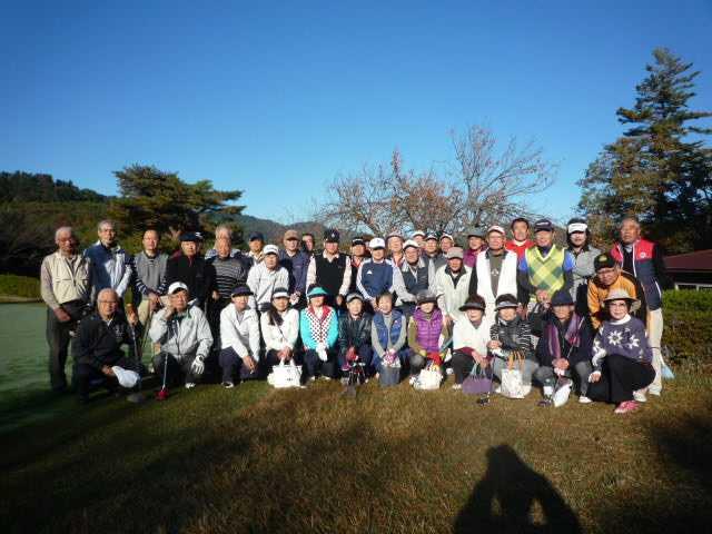 第285回 ゴルフガーデン星野会 11月度コンペ